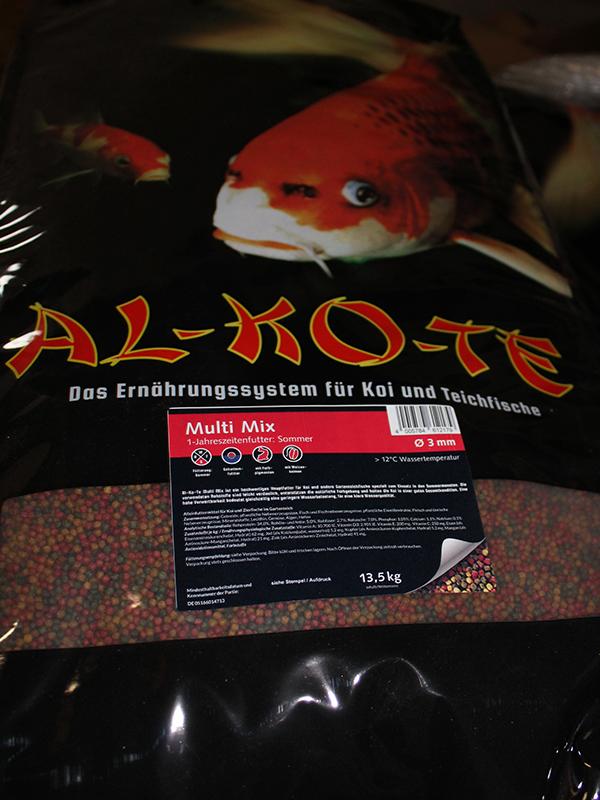 Fischfutter Al-Ko-Te